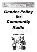 Gender Policy on Community Radio